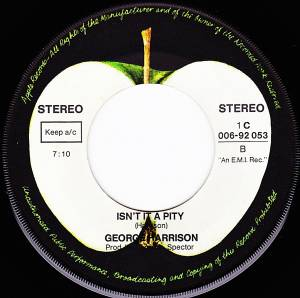 "George Harrison: My Sweet Lord (7"") - Bild 4"