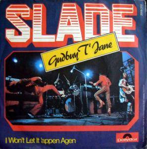 Slade: Gudbuy T'Jane - Cover