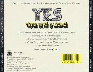Yes: Time And A Word (CD) - Bild 3