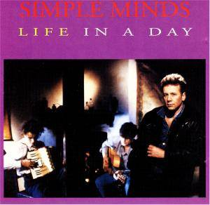 Simple Minds: Life In A Day - Cover