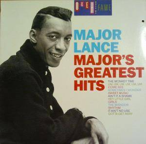 Cover - Major Lance: Major's Greatest Hits