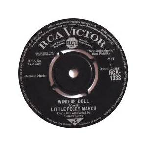 Cover - Little Peggy March: I Will Follow Him
