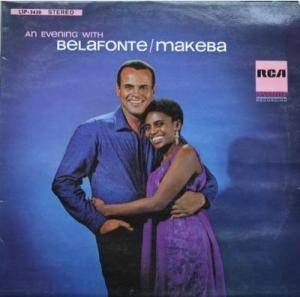 Harry Belafonte & Miriam Makeba: An Evening With Belafonte/Makeba (LP) - Bild 1