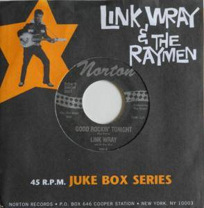Cover - Link Wray & The Raymen: Good Rockin' Tonight