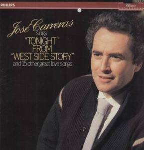 "Cover - José Carreras: Jose Carreras Sings ""Tonight"" From ""West Side Story"" And 15 Other Great Love Songs"