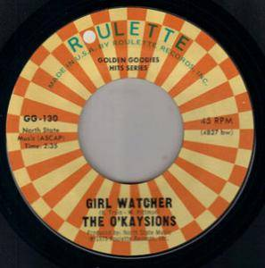 Louis Armstrong: What A Wonderful World / Girl Watcher - Cover