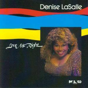 Cover - Denise LaSalle: Love Me Right