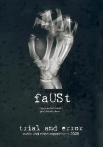 Faust: Trial And Error 2005 - Cover