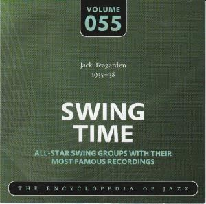Jack Teagarden 1935-38 Swing Time Volume 055 The Encyclopedia Of Jazz - Cover