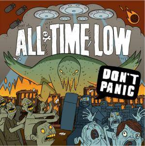 Cover - All Time Low: Don't Panic