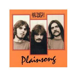 Cover - Plainsong: And That's That - The Demos