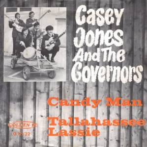 Cover - Casey Jones & The Governors: Candy Man