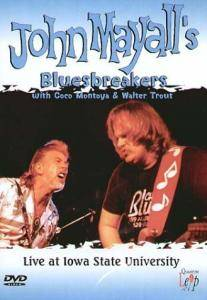 Cover - John Mayall's Bluesbreakers: Live At Iowa State University