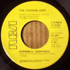 Cover - Youngbloods, The: Darkness, Darkness