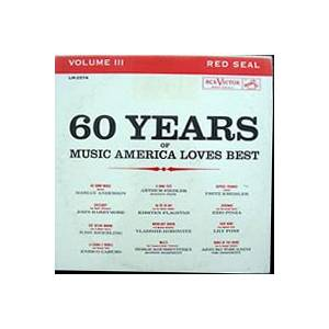 Cover - Amilcare Ponchielli: 60 Years Of Music America Loves Best / Volume III