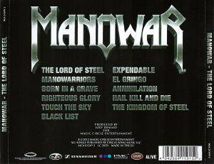 Manowar: The Lord Of Steel (CD) - Bild 2
