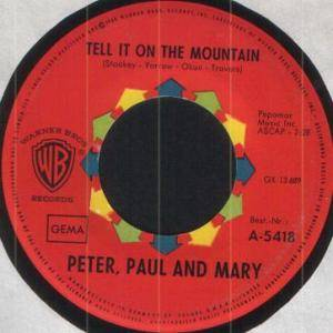 Peter, Paul And Mary: Tell It On The Mountain - Cover