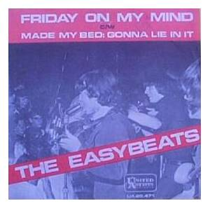 The Easybeats: Friday On My Mind - Cover