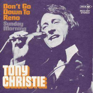 Tony Christie: Don't Go Down To Reno - Cover
