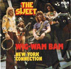 The Sweet: Wig-Wam Bam - Cover