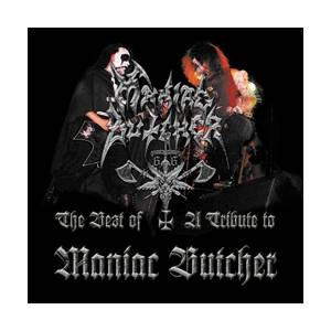 Maniac Butcher: Best Of / A Tribute To Maniac Butcher, The - Cover