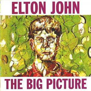 Elton John: Big Picture, The - Cover