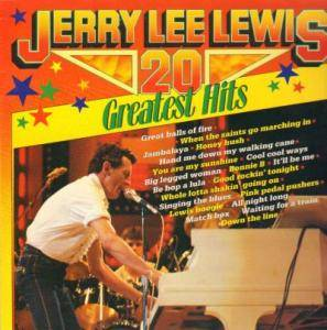 Jerry Lee Lewis: 20 Greatest Hits - Cover