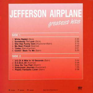 Jefferson Airplane: Greatest Hits (LP) - Bild 3