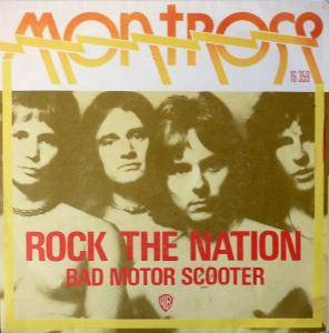 Montrose: Rock The Nation - Cover