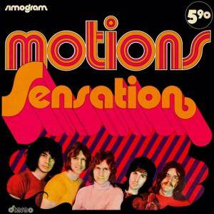 Cover - Motions, The: Sensation