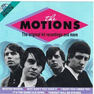 Cover - Motions, The: Original Hit Recordings And More, The