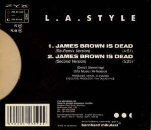 L.A. Style: James Brown Is Dead (Single-CD) - Bild 2