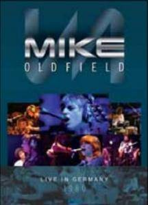 Mike Oldfield: Live In Germany - Cover