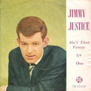 Jimmy Justice: Ain't That Funny - Cover