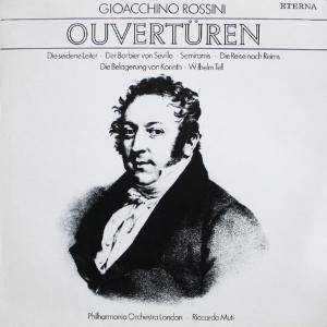 Gioacchino Rossini: Ouvertüren - Cover