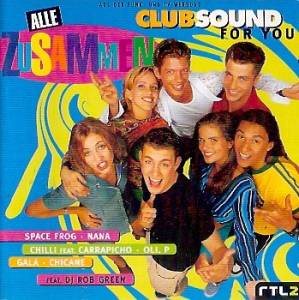 Cover - Kadoc: Alle Zusammen - Clubsound For You