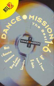Dance Mission The Best 1-6 - Cover
