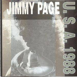 Jimmy Page: USA 1988 - Cover