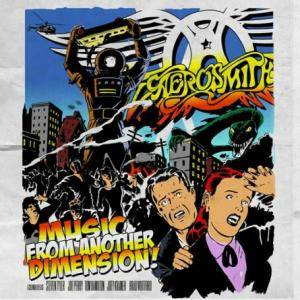 Aerosmith: Music From Another Dimension! - Cover