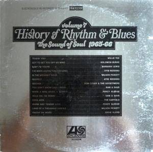 Cover - Willie Tee: History Of Rhythm & Blues Volume 7 The Sound Of Soul 1965-66