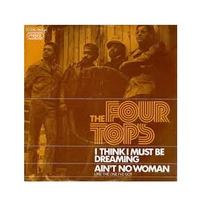 Four Tops: I Think I Must Be Dreaming - Cover