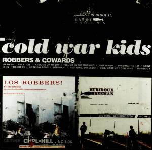 Cover - Cold War Kids: Robbers & Cowards
