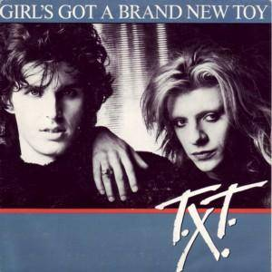 T.X.T.: Girl's Got A Brand New Toy - Cover