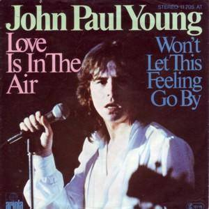 John Paul Young: Love Is In The Air - Cover