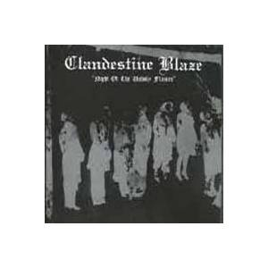 Clandestine Blaze: Night Of The Unholy Flames - Cover