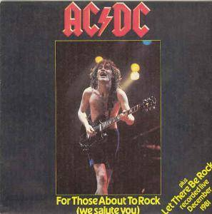 AC/DC: For Those About To Rock (We Salute You) - Cover