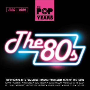 Pop Years - The 80s, The - Cover