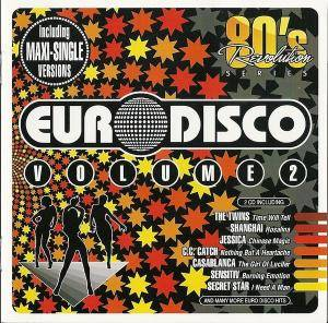 80's Revolution - Euro Disco Vol. 2 - Cover