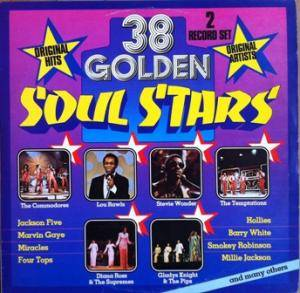 Cover - England Dan & John Ford Coley: 38 Golden Soul Stars