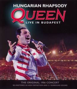 Queen: Hungarian Rhapsody Live In Budapest - Cover